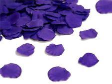Coriandoli petali di seta viola scuro per nozze anniversario decorazioni
