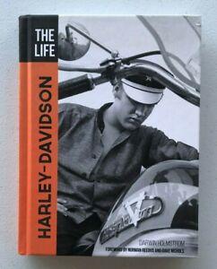 The Life Harley Davidson Darwin Holmstrom Hardcover Book NEW BJ