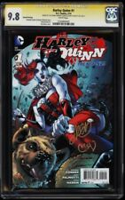 HARLEY QUINN #1 2ND PRINT CGC 9.8 SS Signed by CONNER, PALMIOTTI & MANN