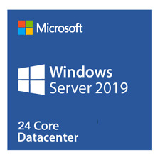 Microsoft Windows Server 2019 Datacenter (24 Core) P71-09053 unlimited VM