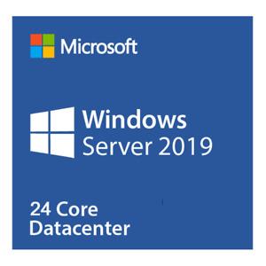 Microsoft Windows Server 2019 Datacenter (24 Core) P71-09053 unlimited VM