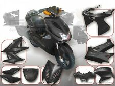 Verkleidung Verkleidungsset Verkleidungsteile DMP Schwarz MBK Nitro Yamaha Aerox