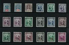 SARAWAK, a collection of 63 stamps for sorting, MM, MNG & used condition.