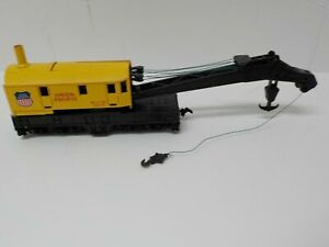 Bachmann N Scale Union Pacific M of W Crane 12277