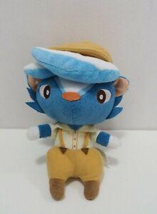 "Animal Crossing Kicks Shank Sanei 2012 Plush 7"" Stuffed Toy Doll Japan"