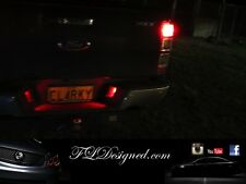 Ford Ranger Px and PX II Red L.E.D Number plate bulbs xlt xl wild track by FLD