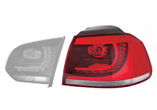 FEUX ARRIERE VOLKSWAGEN GOLF 6 / VI    GTD  GTI     DROIT  AILE  FUME    LED