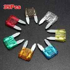 35PCS/SET Mini Fusible De Lámina Auto Coche 5 7.5 10 15 20 25 30 AMP Mixta Hs