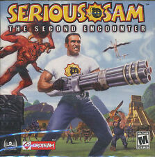 SERIOUS SAM The SECOND ENCOUNTER 2nd PC Game NEW Sealed