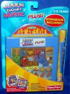 Learn Through Music Plus! Sesame Street People In Your Neighborhood New Sealed