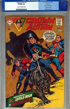 CGC (D.C) CAPTAIN ACTION #1 VF/NM 9.0 NORTHLAND COPY1968 SUPERMAN CVR