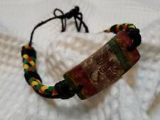 Crochet wristband BRACELET bob marley HIPPIE RASTA REGGAE BOHO JAMAIGA scorpion