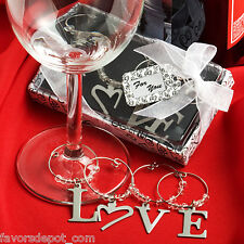 30 Love Wine Charm Bridal Shower Favors Wedding Favor Bachelorette Party
