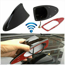 Accessories Car Roof Radio Am/Fm Shark Fin Style Antenna Aerial Signal Black