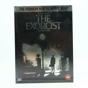 The Exorcist Rare Slip Cover Snap Case DVD William Friedkin Linda Blair R2 GC