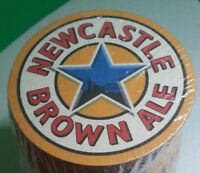 NEWCASTLE BROWN ALE DRAUGHT BEER BAR COASTERS NEW UNUSED 10 COASTERS