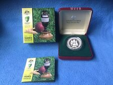 2007 Silver Proof $5 Coin (99.9%) The Ashes 1882-2007