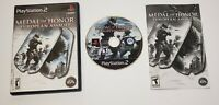 MEDAL OF HONOR: EUROPEAN ASSAULT - PS2 PlayStation - Complete, Tested & Working