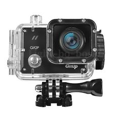 GitUp Git2P Pro 2K WiFi Action Camera 170 Degree Lens Sport DV Wide View Black