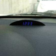 12V Digital LED Alarm Electronic Auto Car Clock Voltmeter Thermo Z2G6 Calen G4M1