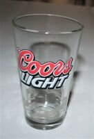 """""""Coors Light"""" Pint  Collector Beer Glass - Rocky Mountain Design"""