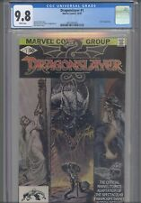 Dragon Slayer #1 CGC 9.8 1981 Marvel Comic Movie Adaptation Denny O'Neil Story