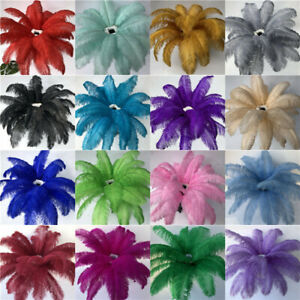 High quality natural ostrich feather decoration 6-24 inch / 15-60 cm 10-100pcs