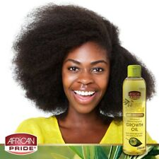 African Pride Olive Miracle Maximum Strengthening Growth Oil 8 Oz