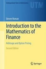 Introduction to the Mathematics of Finance : Arbitrage and Option Pricing: By...