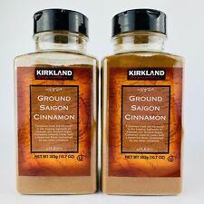 2-Pack Kirkland Signature Ground Saigon Cinnamon Premium 10.7 Ounce (303 g) NEW
