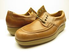 NEW Hanover Tan Leather All Purpose Men's Casual Shoe Size 10M New in Box