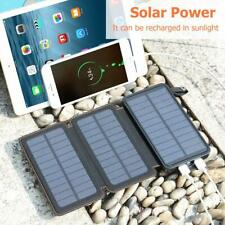 FEELLE Solar Charger, Portable Power Bank 24,000mAh External Battery Pack with 3