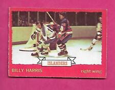 1973-74 OPC #  130 ISLANDERS BILLY HARRIS   ROOKIE VG  CARD (INV# C3180)