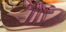 Adidas Dragon Shoes Dragons Purple Men's Size US 6 UK 5.5 Fits Ladies 8