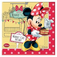 TOVAGLIOLI CARTA MINNIE CAFE'  pz 20 Party Festa Compleanno Disney Mickey 82673