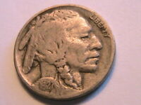 1927-P Buffalo Nickel Nice VG+ Very Good+ Toned Original Indian Head 5 Cent Coin