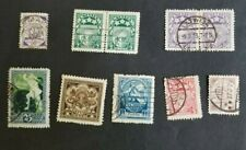Latvia, small lot of old stamps