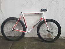 Cyfac XCR columbus stainless steel road frame (cadre) 55 cm with carbon fork Di2