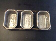Set Of 3 Small HOVIS Tins Quite Rare