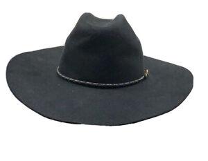 VTG Resistol PBR Top Money Self Conforming 4X Beaver Felt Cowboy Hat 7 1/4 USA