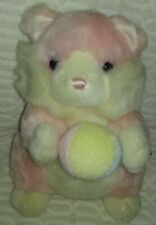 """10""""to12""""TB Trading Co Pink Cat Holding a Ball With Jiggle Bell Plush"""