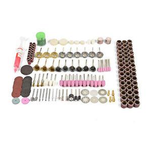 217Pcs Rotary Tool Accessory Kit for Sanding Polishing Rotary Cutting Multi Tool