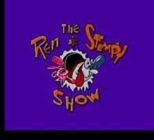 Ren And Stimpy Show Buckeroos - Rare NES Nintendo Game