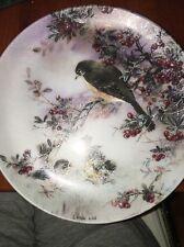 "Lena Liu'S ""Delicate Accord"" Natures Poetry Series - Collectors Plate Birds"