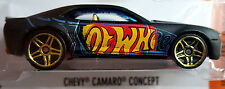 Hot Wheels 2016 HW Digital Circuit Chevy Camaro Concept Black Chevrolet GM 1:64