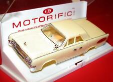 Vintage 1960's Ideal MOTORIFIC 1963 LINCOLN CONTINENTAL Suicide Doors IVORY Body