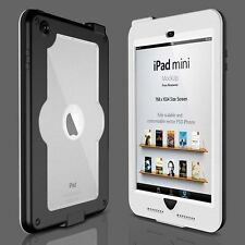 White Waterproof Shookproof DirtProof Protective Case Cover for iPad Mini 1 2 3