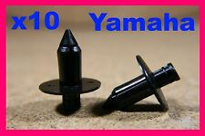 10 YAMAHA Motorbike motor cycle bike Plastic Fairing Push Rivet Clips 7mm
