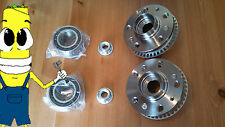 VW Golf Front Wheel Hub And Bearing Kit Assembly 2000-2005 PAIR TWO