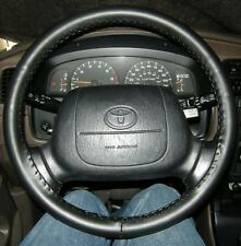 LEATHER STEERING WHEEL COVER WHEELSKINS